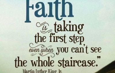 faith k love first step pic Good