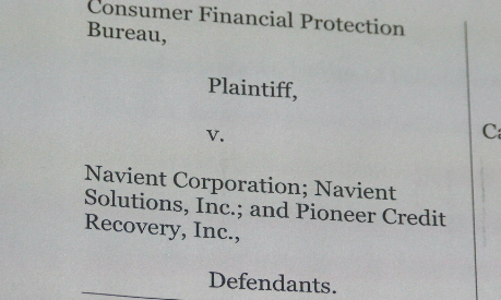 Consumer Financial Protection Bureau Sues Nations Largest Student Loan Company Navient Formerly Sallie Mae Find Out Why