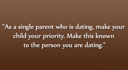 Junge Single-Mam und Dating